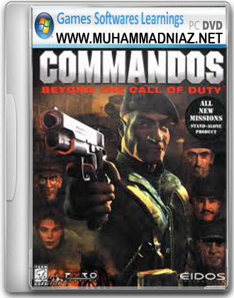 Commandos 2 Beyond The Call of Duty cover Free Download