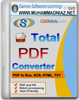 Total PDF Converter Cover Free Download