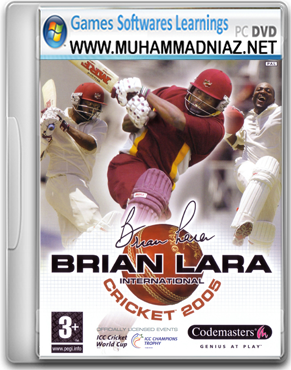 Brian Lara International Cricket 2005 Cover