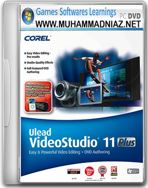 Full ulead plus 11 studio crack key and video download