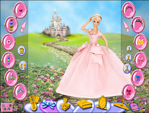 Barbie Beauty Styler Screenshot 1