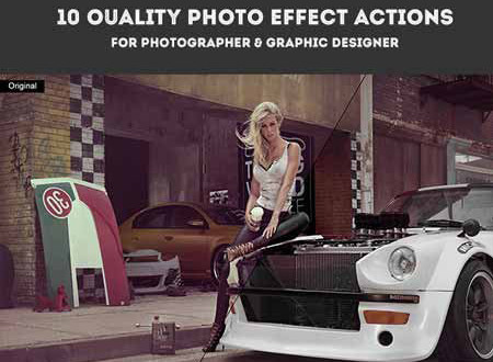 10 quality photo effect actions photoshop