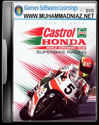 Castrol Honda Superbike Cover