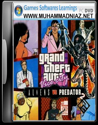 GTA Alien vs Predator 2 Cover