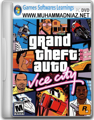 GTA Vice City Cover Free Download