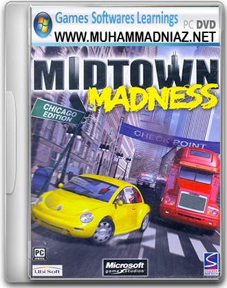 Midtown Madness Game Cover