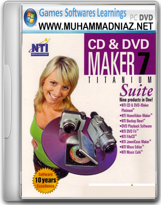 NTI CD and DVD Maker 7 Cover