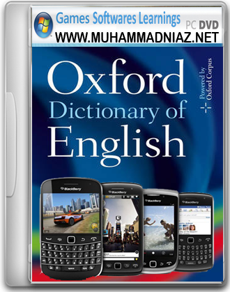 BlackBerry Oxford English Dictionary Cover