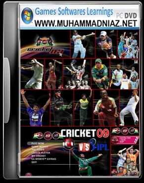 EA Cricket 2009 ICL vs IPL Cover