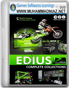 Edius Video Editing Software Cover