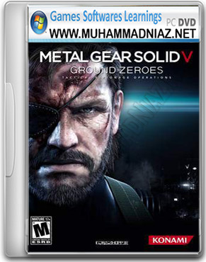 Metal Gear Solid V Ground Zeroes Game Cover