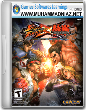 Street Fighter X Tekken Cover