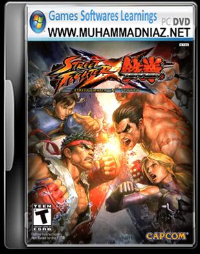 Street Fighter X Tekken Cover