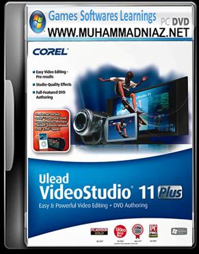 Ulead Video Studio 11 Plus Cover