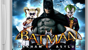 Batman Arkham Asylum Game Cover