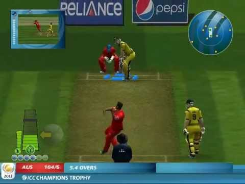 ICC Champions Trophy 2013 Screenshot