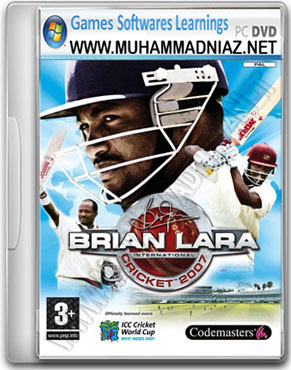 Brian Lara Cricket 2007 Game Cover
