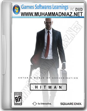 Hitman 2016 Game Cover