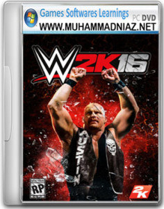 WWE 2K16 Game Cover