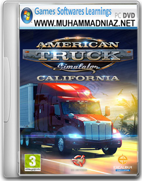 American Truck Simulator Game Cover
