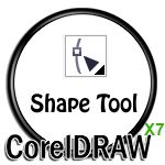Shape tool in CorelDRAW