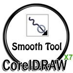 Smooth Tool in CorelDRAW