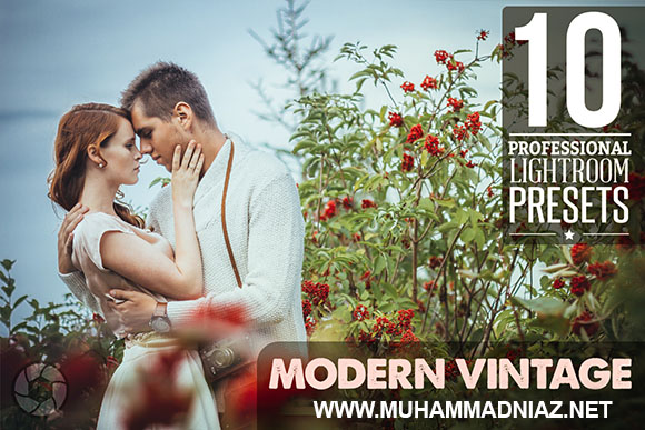 10 Modern Vintage Lightroom Presets Cover