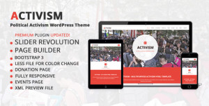Political Activism Theme Preview