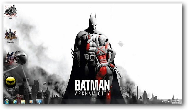 Batman Arkham City Theme Cover