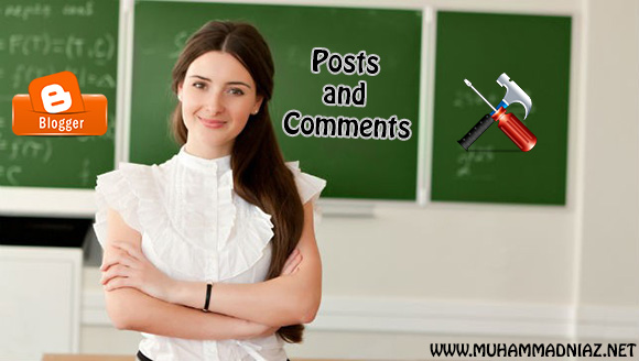 Posts and Comments Logo
