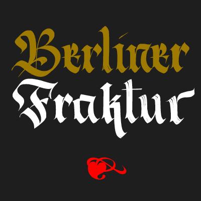 Berliner Fraktur Cover
