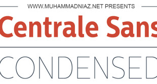 Centrale Sans Condensed Font Family Cover