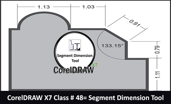 Segment Dimension Tool Cover