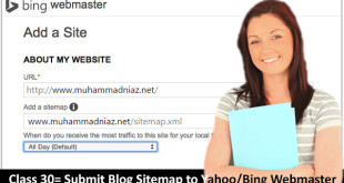 Submit Blog Sitemap to Yahoo Webmaster Cover