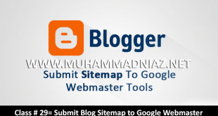 Add Blogger Sitemap to Google Webmaster tools Cover