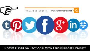 Header Social Media Icon Cover