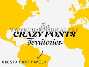 Odesta Fonts Cover