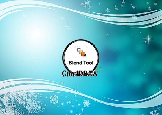 Interactive Blend Tool in CorelDRAW