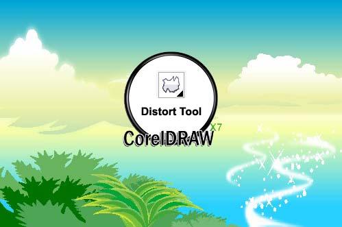 CorelDRAW Distort Tool