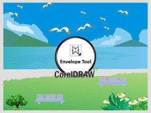 CorelDRAW Envelope tool