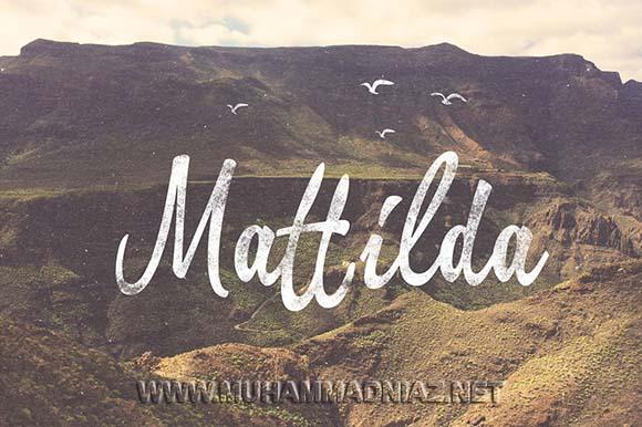 Mattilda Font Cover