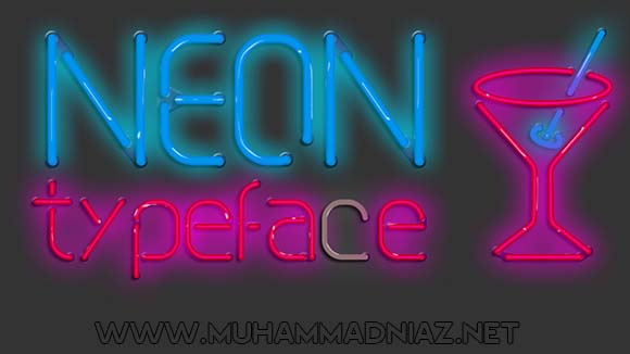 NEON Typeface Cover