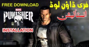 The Punisher Game Installation Cover