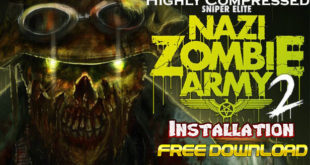 Nazi Zombie Army 2 Installation Cover
