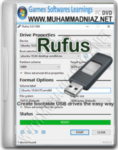 Rufus USB Cover