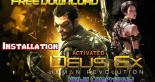 Deus Ex Human Revolution Game Cover