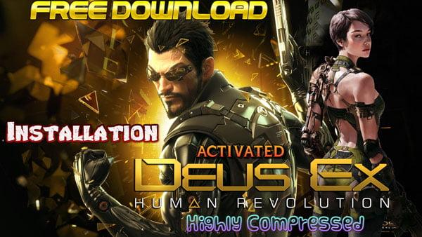Deus Ex Human Revolution Game Cover