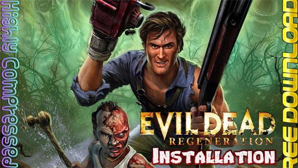 Evil Dead: Regeneration Cover