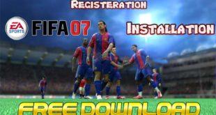 EA FIFA 07 Cover